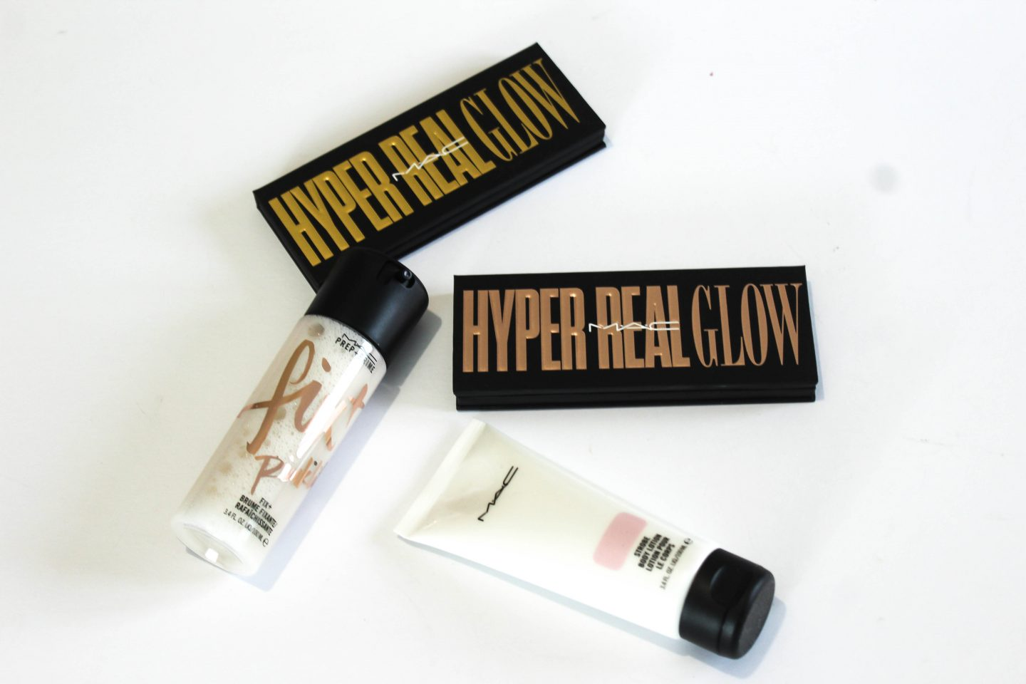 Glowing All Out With MAC Hyper Real Glow and Strobe Collections